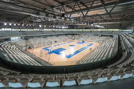 Salle sportive metropolitaine