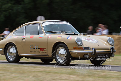 Celebrating 50 years of the Porsche 911 at the Goodwood Festival of Speed 2013