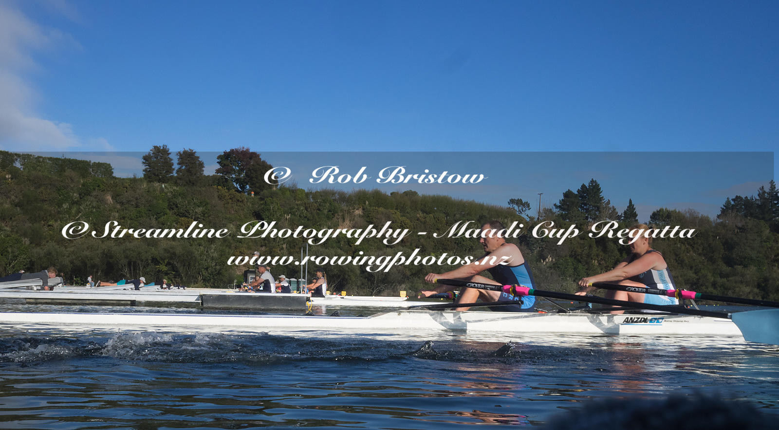 Taken during the World Masters Games - Rowing, Lake Karapiro, Cambridge, New Zealand; ©  Rob Bristow; Frame 1310 - Taken on: ...
