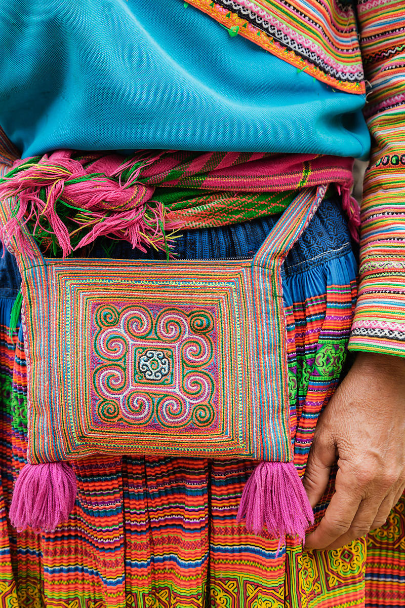 Flower Hmong Ornamentation