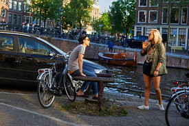 Cycling Amsterdam