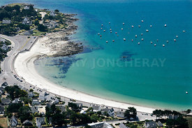 photo de la plage de Saint Colomban a Carnac