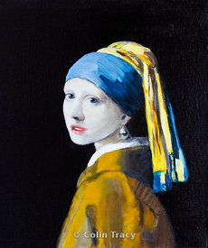 The Girl with the Pearl Earring - Copy!