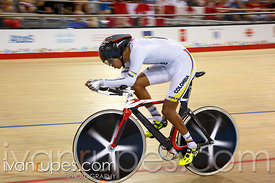 Men's Individual Pursuit C4-5  Qualification. Track Day 2, Toronto 2015 Parapan Am Games, Milton Pan Am/Parapan Am Velodrome,...