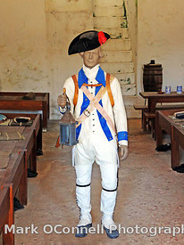 Castillo San Christobal guard