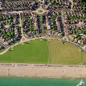 Worthing aerial photos