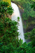 Sipi Falls at the footslopes of Mount Elgon, Sipi, Uganda