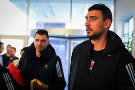 Peter GULYAS of Veszprém during the Final Tournament - Final Four - SEHA - Gazprom league, team arrival in Varazdin, Croatia,...