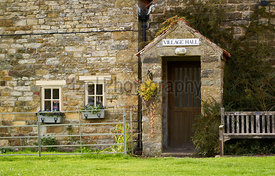The old village hall of Levisham on the North York Moors, Yorkshire, England, UK.