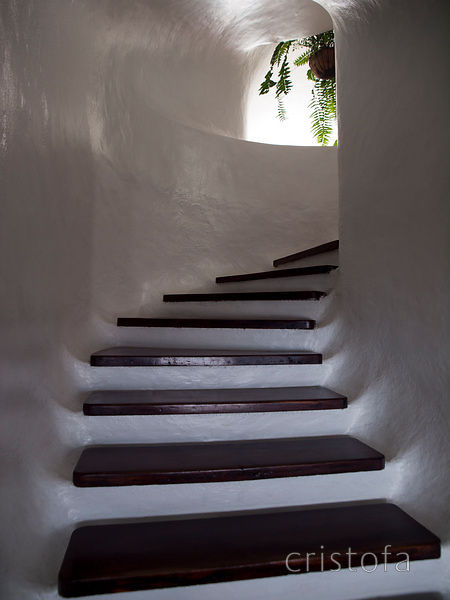 staircase at the Mirador del Rio designed by César Manrique