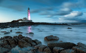 Blue Hour at St Marys Lighthouse
