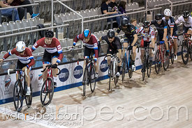 Cat 2 Men Points Race, 2017/2018 Track Ontario Cup #1, Mattamy National Cycling Centre, Milton On, December 10, 2017