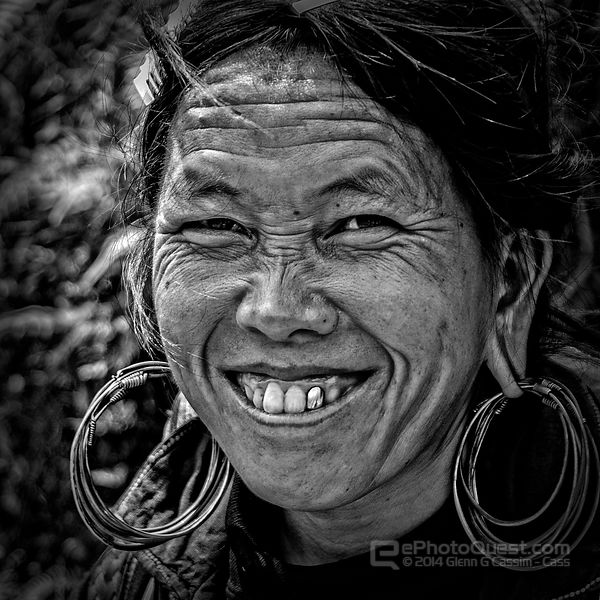 Hmong Tribal Woman