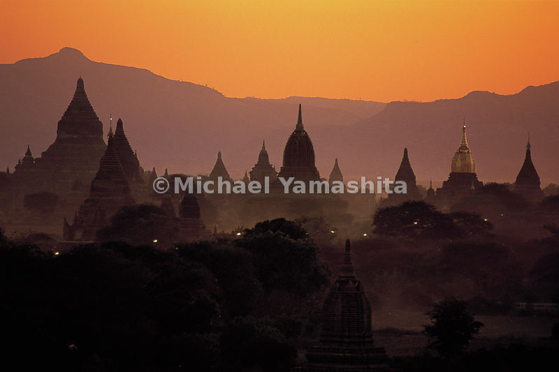 "Bagan is also called ""Valley of the Thousand Temples,"" but in the Middle Ages there were 13,000 stupas."