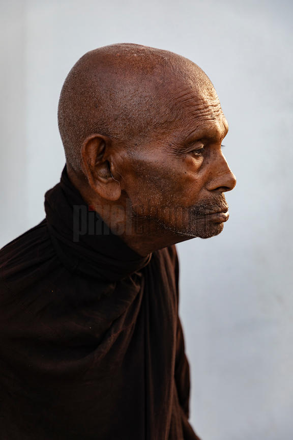 Portrait of a Monk who has Taken a Vow of Silence