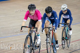 Junior Women Sprint 5-8 Final. Eastern Track Challenge/O-Cup #3, February 9, 2019