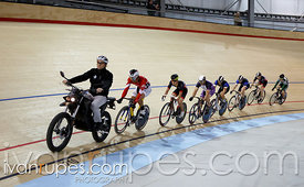 Men's keirin round 1. 2014 Canadian Track Championships, January 6, 2015