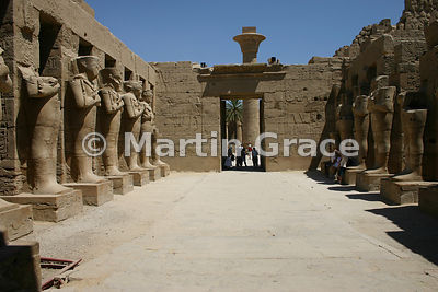 Karnak Temple of Amun - Temple of Ramesses III (First Court)