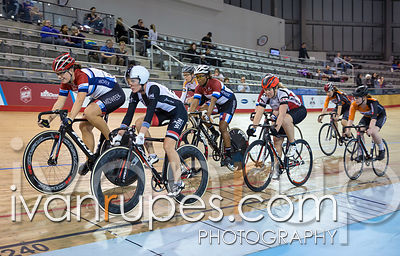 Cat 2 Women Scratch Race, 2016/2017 Track O-Cup #1, Mattamy National Cycling Centre, Milton, On, December 4, 2016