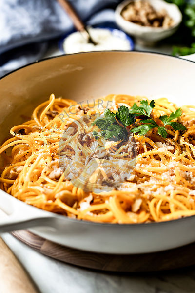 Butternut Squash Noodles in a bowl
