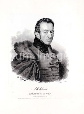 Joel Roberts Poinsett, Secretary of War