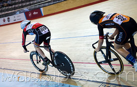 Junior Women's Team Sprint Final. 2015 Canadian Track Championships, October 9, 2015