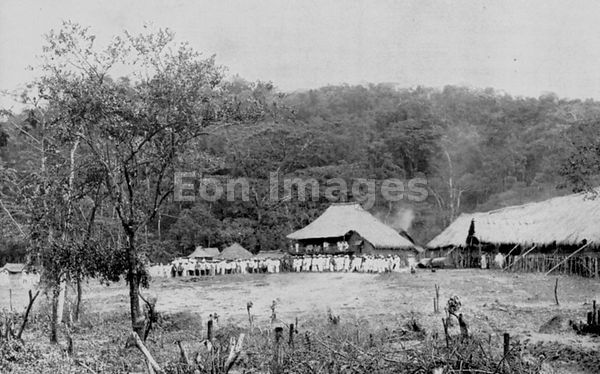 Camp of Aguinaldo during Philippine Insurrection of 1896