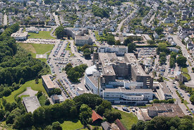 photo du centre hospitalier de Quimper