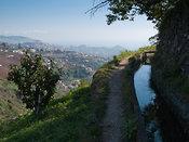a levada's maintenance path is good for walking