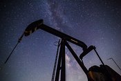 Pump Jack and the Milky Way #4