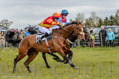 Mr Shahady, Kit ALexander and Royal Chatelier Jamie, Alexander, The Bruce Farms Northern Point-to-Point Members Race at Balco...