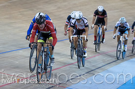 Master C Men Points Race. Canadian Track Championships, Mattamy National Cycling Centre, Milton, On, September 24, 2016