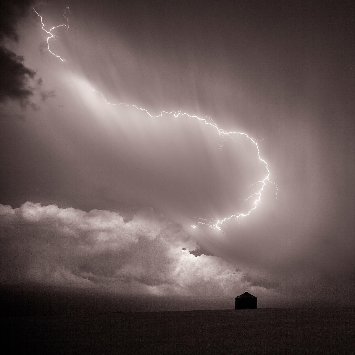 Lightning over the Plains | Colorado | 2014