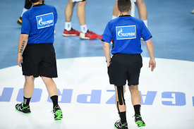 referee during the Final Tournament - Final Four - SEHA - Gazprom league, third place match, Varazdin, Croatia, 03.04.2016..M...