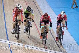 Junior Women Omnium Elimination Race. Milton International Challenge, Mattamy National Cycling Centre, Milton, On, September ...