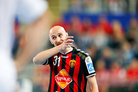 Timur DIBIROV of Vardar during the Final Tournament - Final Four - SEHA - Gazprom league, semi finals match, Varazdin, Croati...