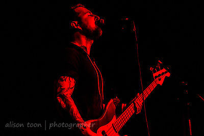 Ben Flanagan, vocals and bass, Black Map