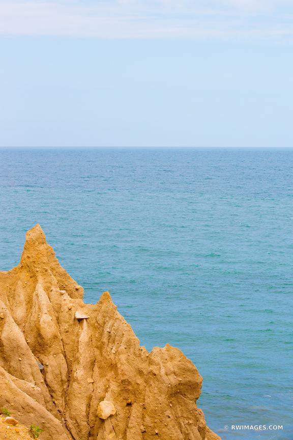 Framed Photo Print Of Cliff Atlantic Ocean Montauk Point Long Island