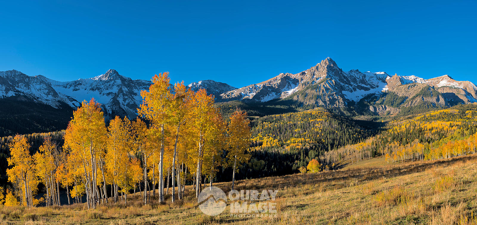 Mears and S9 Peak in Fall Morning - Large print option