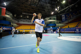 Ljubo Vukic during the Final Tournament - Final Four - SEHA - Gazprom league, Kids day in Brest, Belarus, 08.04.2017, Mandato...