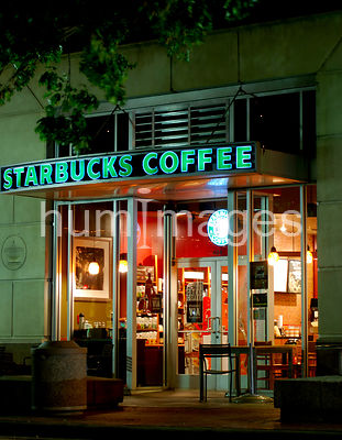 Starbucks in downtown Ft. Worth, Texas (Sundance Square)