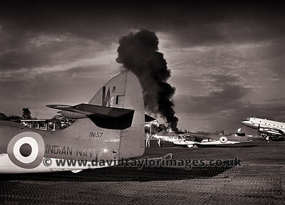 Starter cartridge | Sea Hawks IN156 and IN157 | RAF Changi August 1962