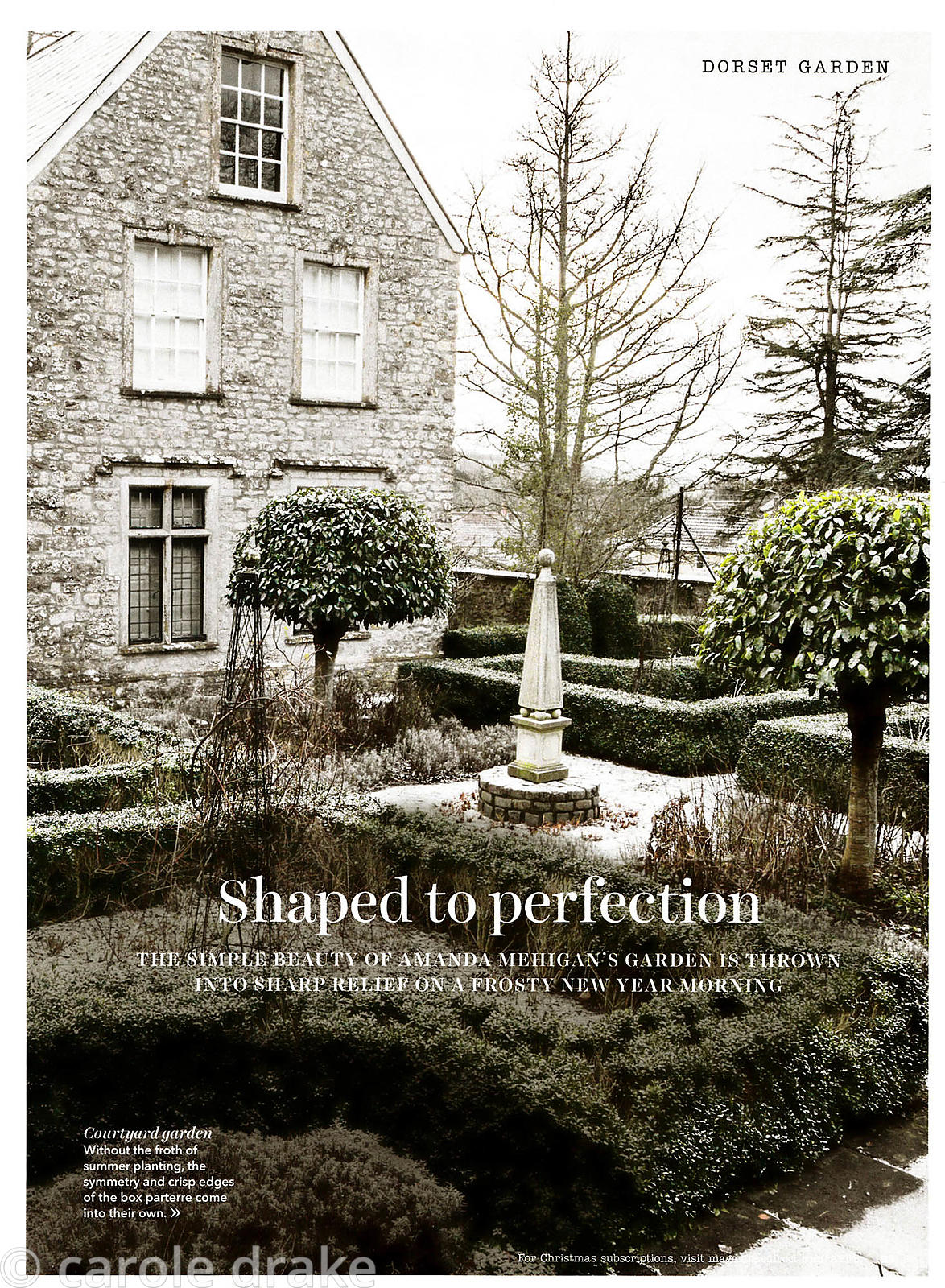Old Rectory, Country Homes and Interiors, January 2016
