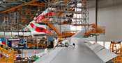 Maintenance of Boeing 747 aeroplanes