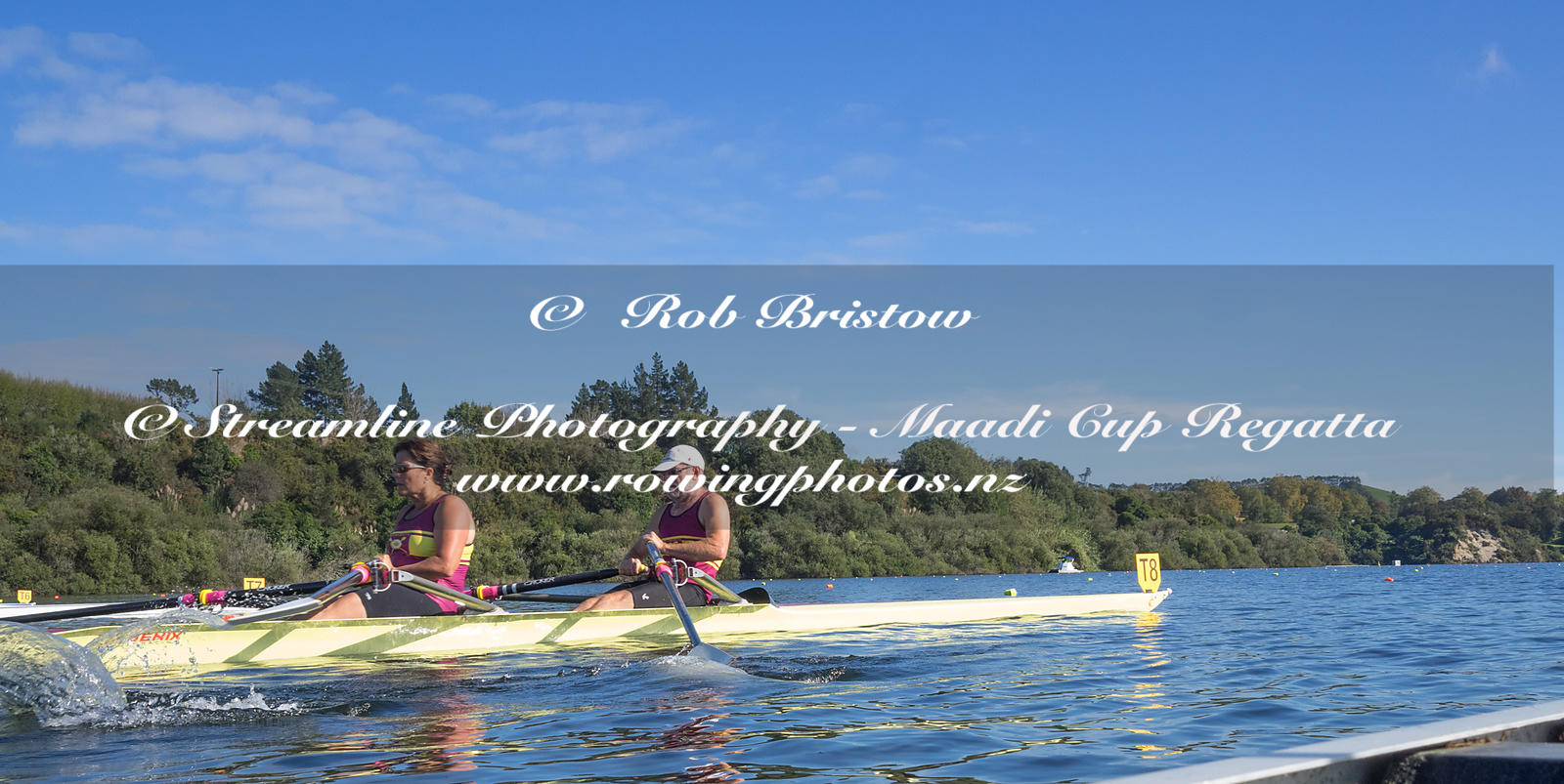 Taken during the World Masters Games - Rowing, Lake Karapiro, Cambridge, New Zealand; ©  Rob Bristow; Frame 1357 - Taken on: ...