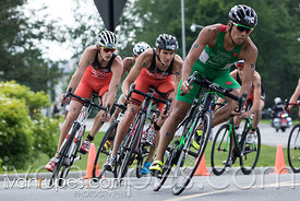 CAMTRI A Finals Men. Ottawa International Triathlon, Dow's Lake, Ottawa, On, June 18, 2017