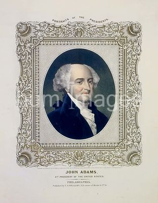 John Adams, 2nd president of the United States