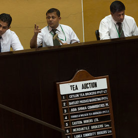 Colombo Tea Auction