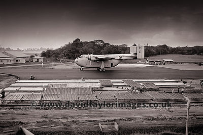New surfaces | Beverley XH116 | RAF Changi December 1963