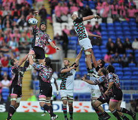 Harlequins vs Stade Français Paris.